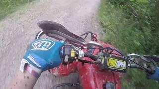 400ex trail rip / hillclimbing
