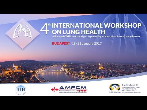 4th International Workshop on Lung Health. Budapest, 19-21/01/2017.