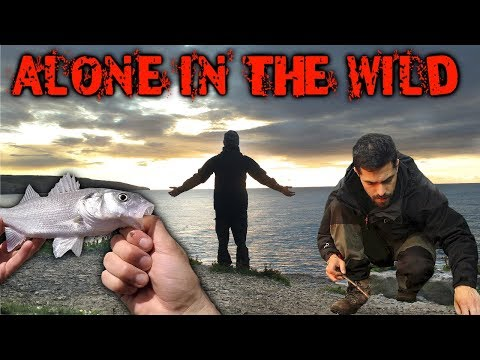 3 Days Alone in the Wilderness - Fishing, Bushcraft & Foraging for Wild Food