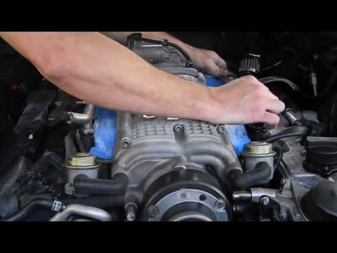 How to upgrade / replace / renew fuel injectors Mercedes AMG M113k