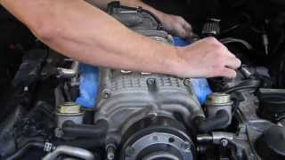 How to upgrade / replace / renew fuel injectors Mercedes AMG M113k engine CL55, E55, SL55, S55