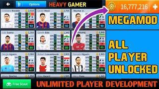 Dream League Soccer 2018 V.5.064 MegaMod Apk 🌠 All Players Unlocked 🔓 Unlimited Coins