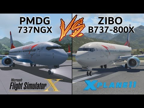 PMDG 737 NGX vs  ZIBO B737-800X | THE ULTIMATE COMPARISON