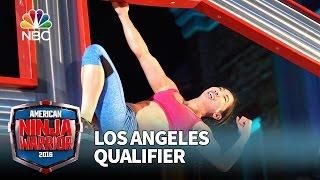 Natalie Duran at the Los Angeles Qualifier - American Ninja Warrior 2016