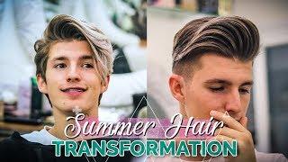 Men 2018 Summer Hair Transformation Haircut Tutorial