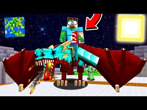 CAN MINECRAFT DRAGONS SURVIVE ON THE MOON?