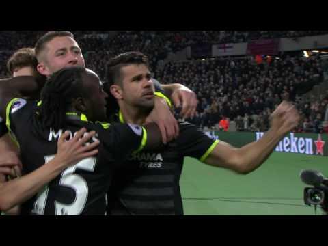 FT West Ham 1 - 2 Chelsea