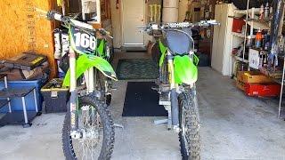 My Bikes Kawasaki 250f's