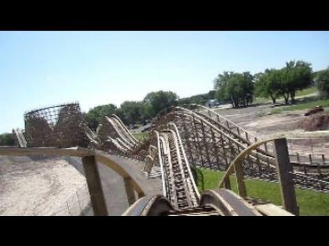 Zippin Pippin Front Seat on-ride HD POV Bay Beach Amusement Park