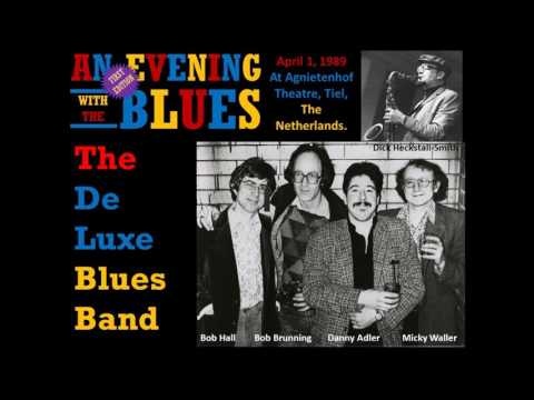 The De Luxe Blues Band AEWTB APRIL 1,1989 Tiel The Netherlands