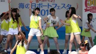 2014年7月27日 福岡市 マリンメッセ横 中央ふ頭イベントヤード.