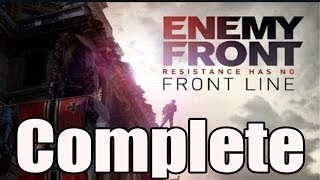 Enemy Front Walkthrough Full Game Walkthrough / Complete Walkthrough Gameplay Lets Play