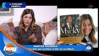 Martha Figueroa y su relación con Luis Miguel | A corazón abierto | Hoy