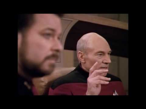 "Star Trek TNG Compilation - Every ""Engage"" Seasons 4 & 5"