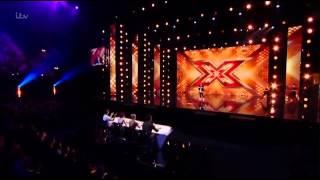 Tom Davies (Male Cheryl)-X Factor 2015