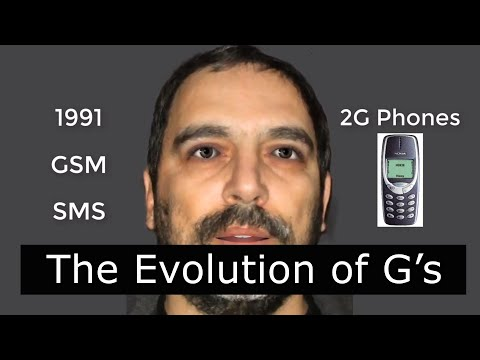 A Brief History Of The Telephone And The Mobile Generations G's