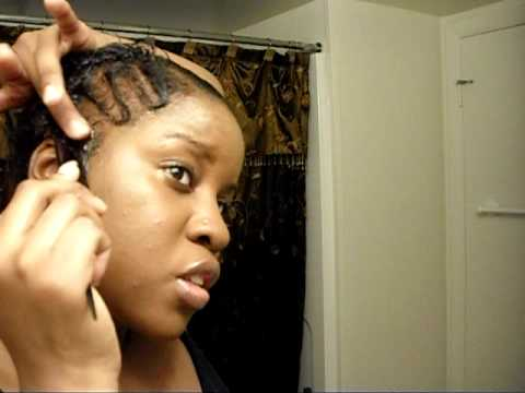 Black Short Hair Style Quick Finger Waves And Natural Curl