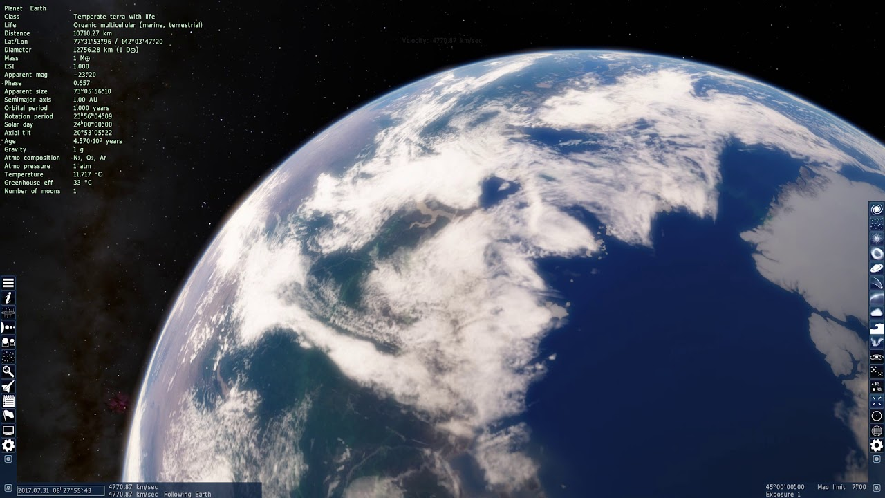 Space Engine | The Solar System: Earth