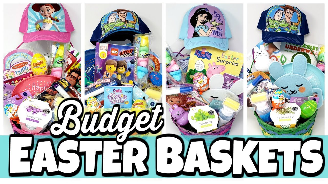 What I Got My Kids For EASTER 2019 TARGET BASKET GIFT IDEAS
