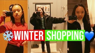 WINTER Shopping + Haul!! Vlogmas Day 14!! Nicole Laeno