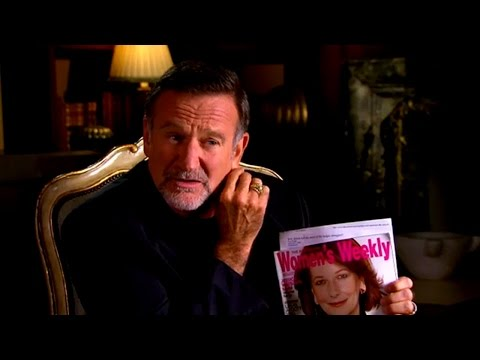 Robin Williams | 60 Minutes | The King of Comedy