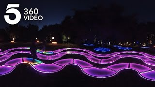 Experience Holiday Lights in 360 at Descanso Gardens