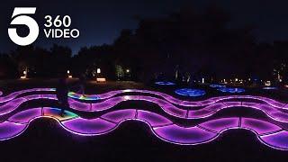 Holiday Lights at Descanso Gardens | KTLA 360
