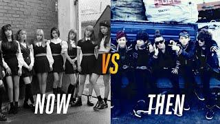 K-Pop Similarities Now vs Then (My Opinion)