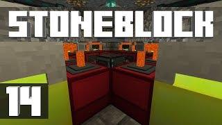 StoneBlock - Ep. 14: POWER PLANT! (Modded Minecraft 1.12.2)