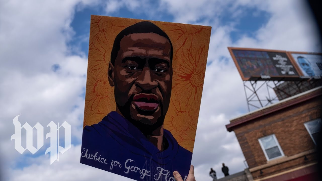 George Floyd Square in Minneapolis erupts in cheers after Chauvin guilty verdict