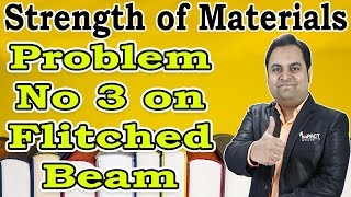 Problem No 3 on Flitched Beam | Stresses in Beams | Strength of Materials |