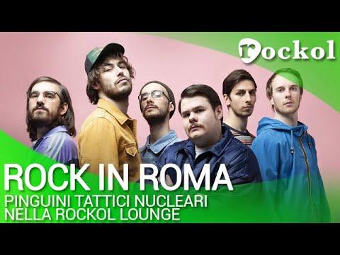 Guarda l'intervista ai Pinguini Tattici Nucleari nella Rockol Lounge del Rock in Roma