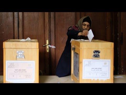 Landmark Egyptian Elections Enter Second Day