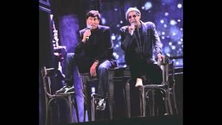 Adriano Celentano e Gianni Morandi - Scende la pioggia - LIVE Arena di Verona (with lyrics/parole)