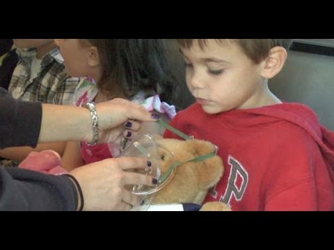 Pre-K Kids Learn First Aid at Unity Drive's Teddy Bear Care Program