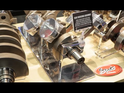 PRI 2015 - Scat Crankshafts Puts Together New Rotating Assemblies