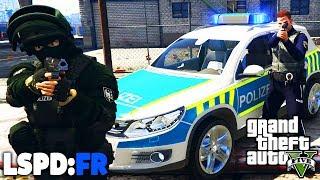 GTA 5 LSPD:FR - ANGRIFF auf POLIZEISTATION! - Deutsch - Polizei Mod #43 Grand Theft Auto V