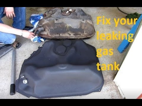 DIY: How to replace the gas tank in a Honda civic