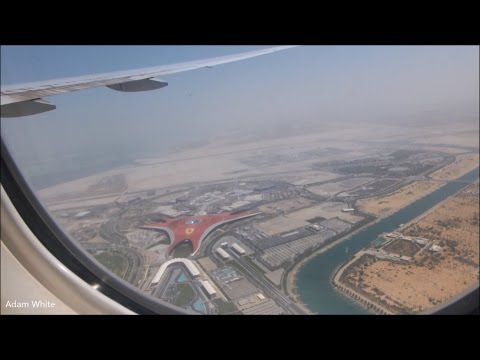 Jet Airways B777 Takeoff From Abu Dhabi