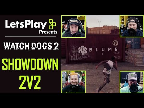 Watch Dogs 2: Showd0wn Multiplayer with Achievement Hunter | Let's Play Presents | Ubisoft