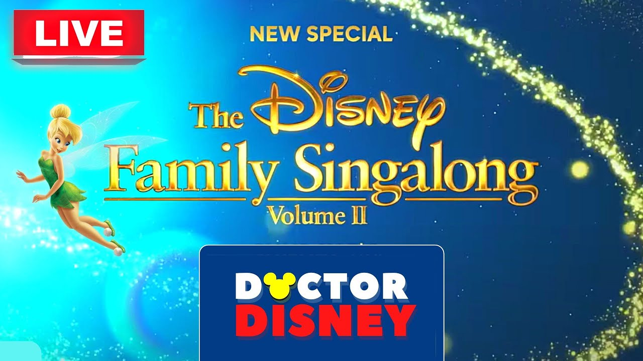 How to Watch and Stream 'The Disney Family Singalong: Volume 2 ...