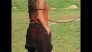 Woman whipping by Sün