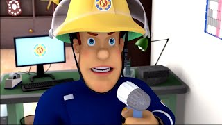 Fireman Sam US  ⭐️ Sound the Alarm 🔔 Fire Rescue | Best Rescue Compilation 🔥Kids Movie