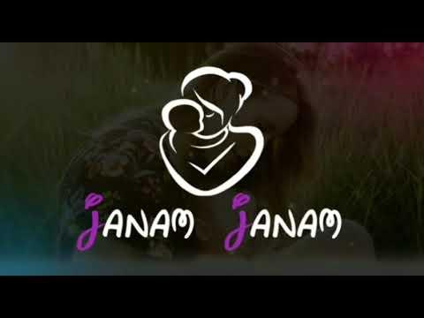 Janam Janam tu hi mere sath maa.. Happy Mothers Day whatsapp status