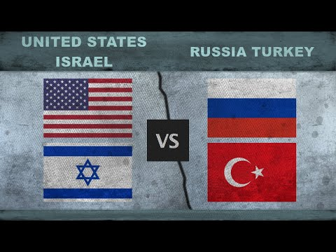 UNITED STATES, ISRAEL vs RUSSIA, TURKEY - Military Comparison 2018