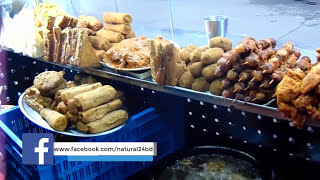 Street Food of Dhaka, Bangladesh | Beef and Chicken Burger, Chicken Fry any More | Part-1