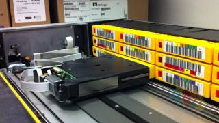 LTO3 Ultrium Tape Autoloader Internal Workings & Mechanism