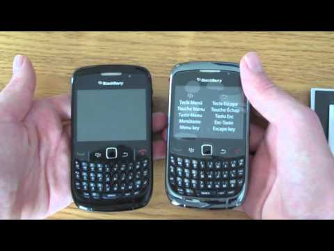 Unboxing - BlackBerry Curve 9300/3G
