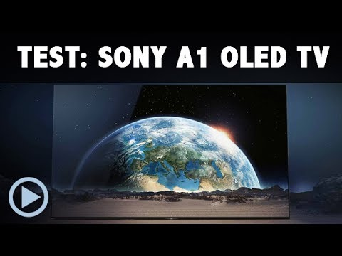 Sony A1 OLED Test / Vorstellung 65 Zoll Android TV