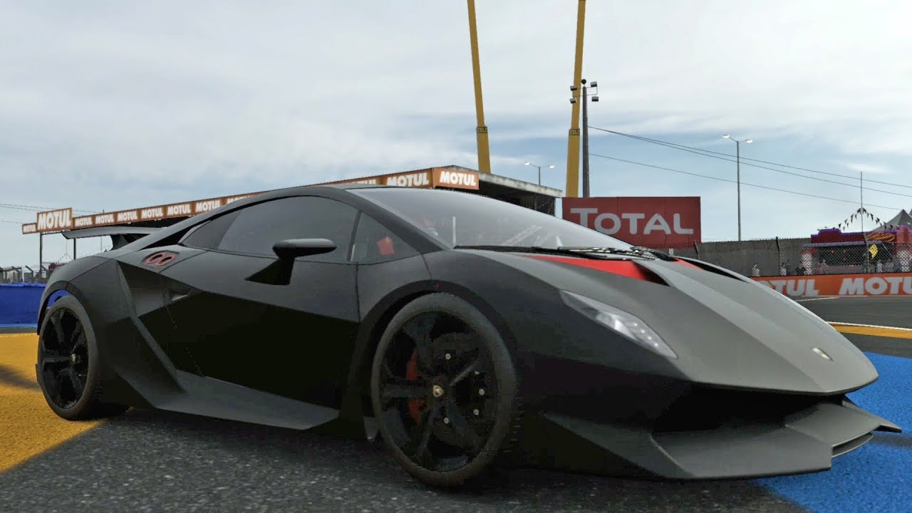 forza motorsport 7 lamborghini sesto elemento 2011. Black Bedroom Furniture Sets. Home Design Ideas